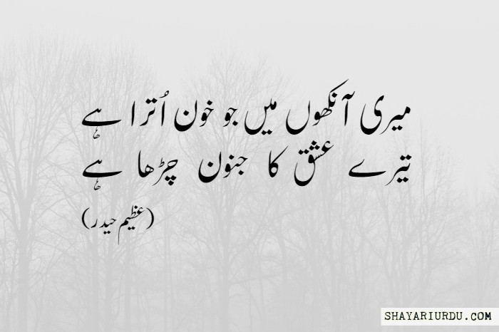 ishq poetry